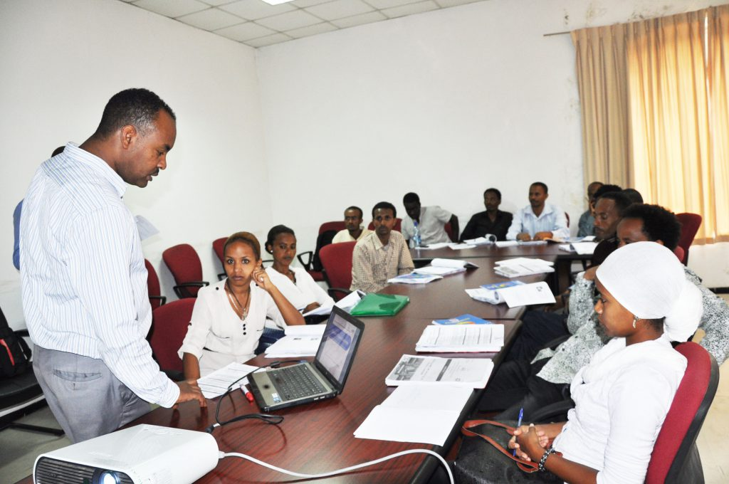 Laboratory Training on TB Culture and Identification is on progress