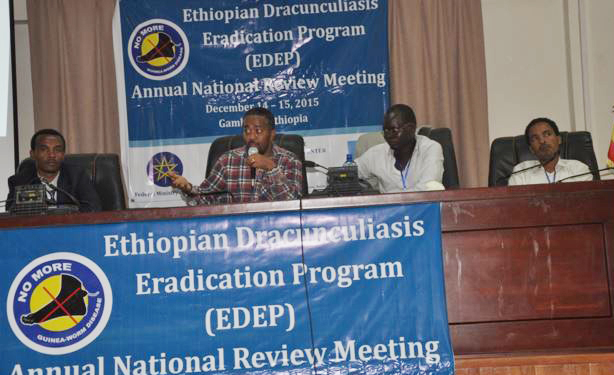 Review meeting held on Drancunculiasis Eradication programs