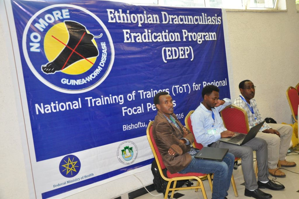 Training held on Guinea Worm Disease