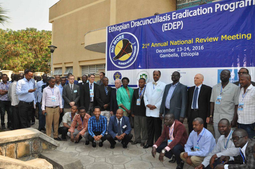 Annual review meeting held on the Ethiopian Dracunculiasis Eradication program