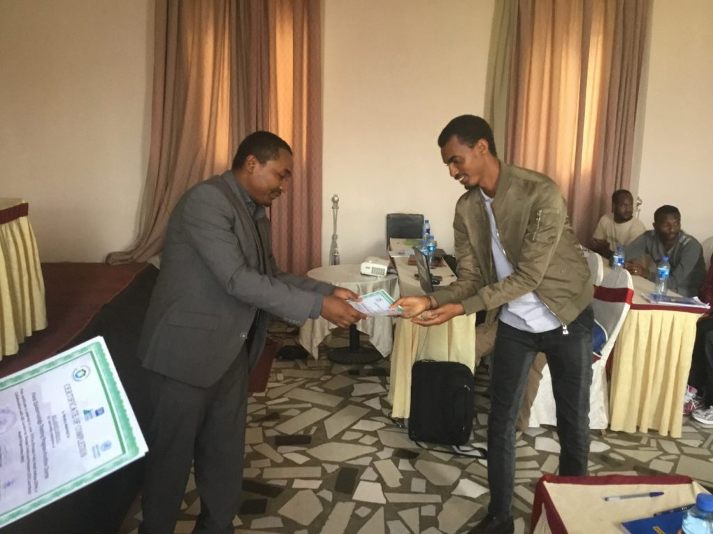 PHEM Officers Certified in Amhara Region
