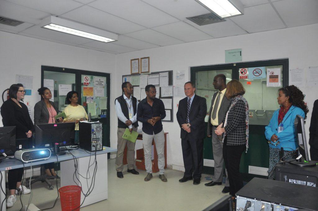 US Ambassador's Visit to EPHI