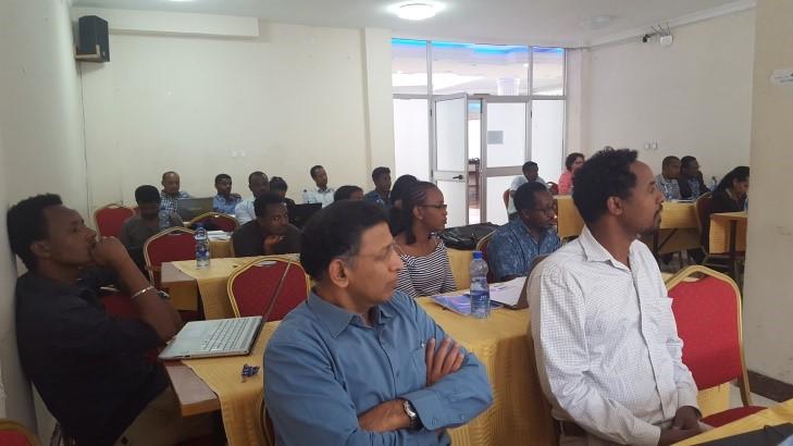 Capacity Need Assessment Workshop for National Information Platform for Nutrition held in Bishoftu.