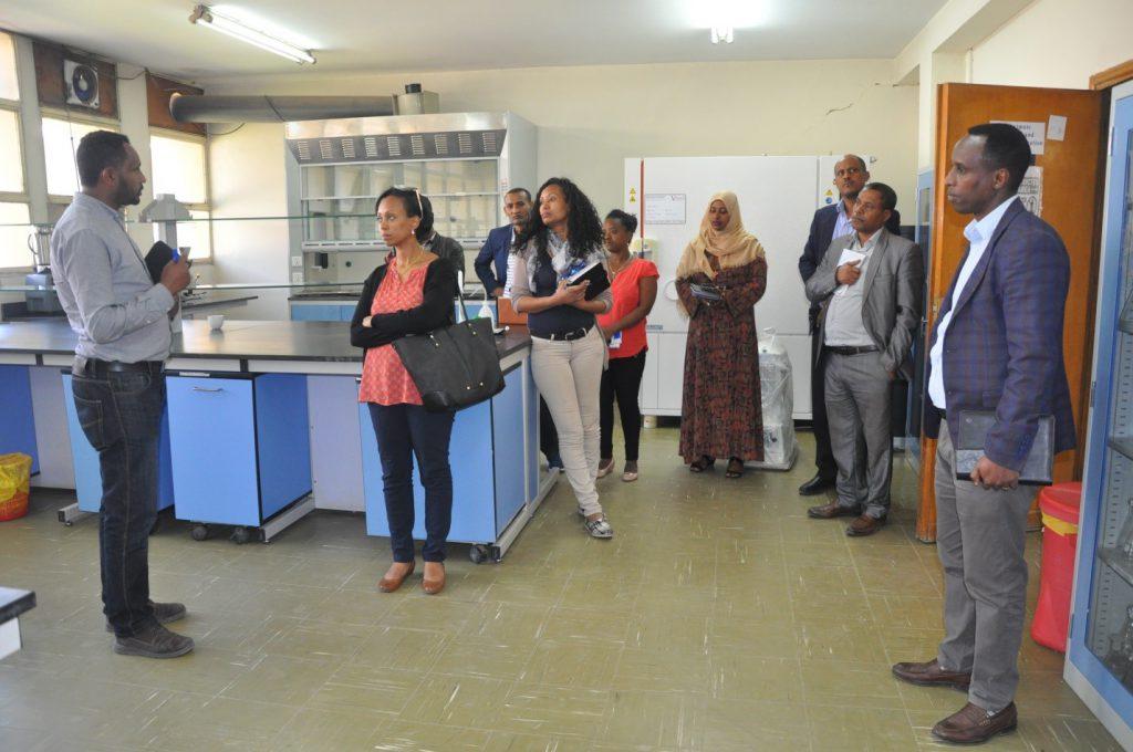 State Minister Visited EPHI