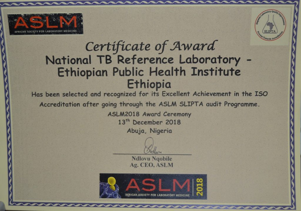 ASLM Accredited EPHI's Laboratories