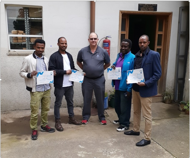 EPHI's Four Engineers have been Internationally Certified
