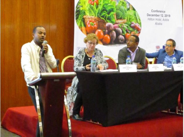 The Ethiopian National Nutrition Conference held at Hilton Addis