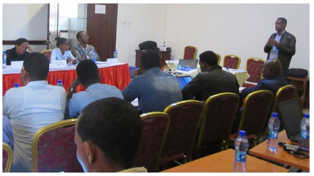 Capacity Development Training Given to Lab Technicians