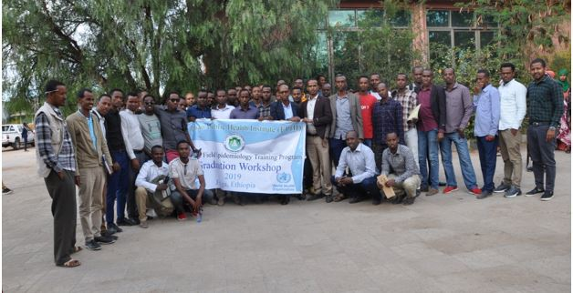 PHEM Officers Certified in FETP in Somali Region