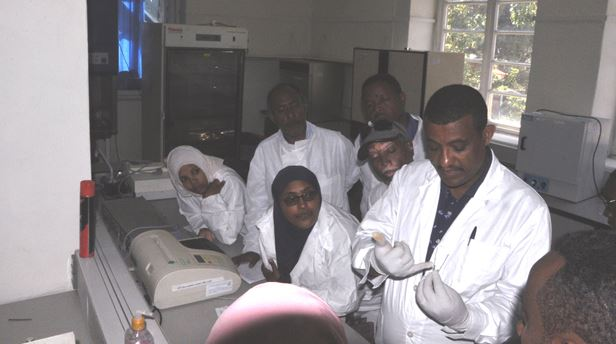 Training on VL Outbreak Assessment and Response was Conducted