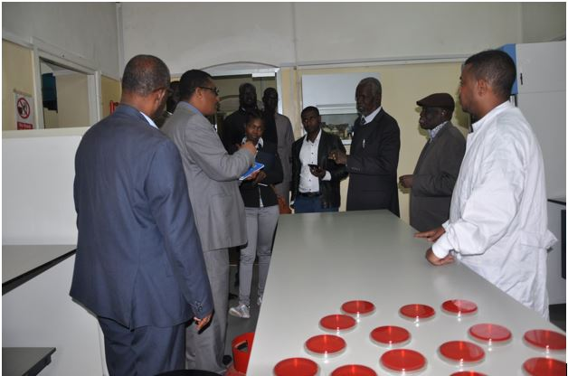 Former South Sudan's Minister of Health Visited EPHI